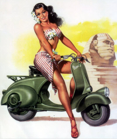 pin up girl, love, adventure