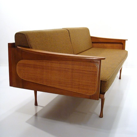 Great mid century danish modern sofa the invisible agent for Mid century danish modern chair