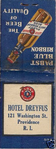 Pabst Blue Ribbon feature book