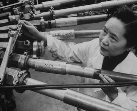 Physicist Dr. Chien-Shiung Wu