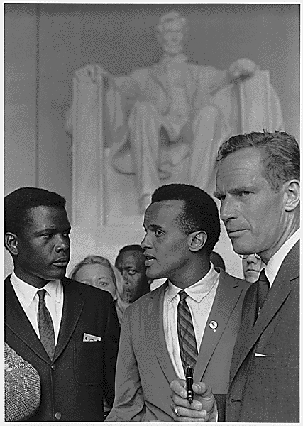 civilpoitier_belafonte_heston_civil_rights_march_1963