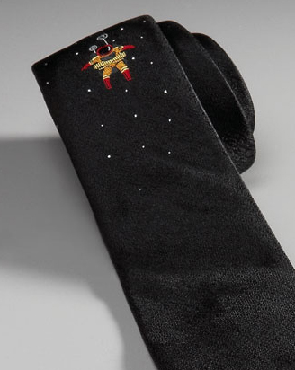 Detail of Spaceman tie