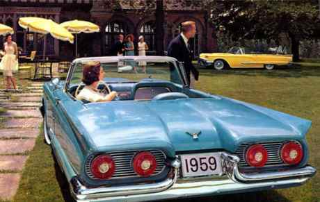 1959 Ford Thunderbird Convertable