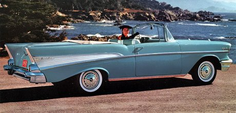 The famous 1957 Chevy
