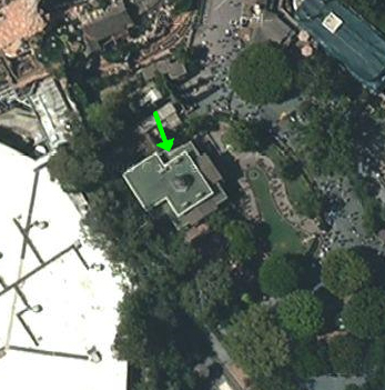 Location of secret pet cemetery at Disneyland's Haunted Mansion
