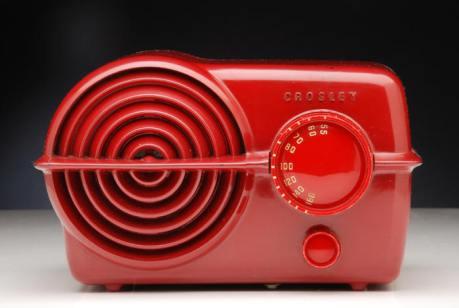 """Crosley - 1951 in """"Firebird Red"""""""