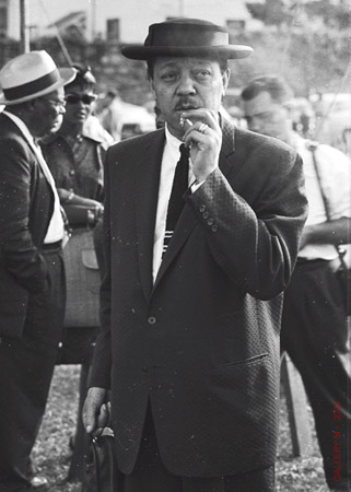 Lester Young in his signature Porkpie hat