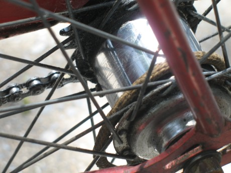 Sturmey Archer rear hub with the '62 date