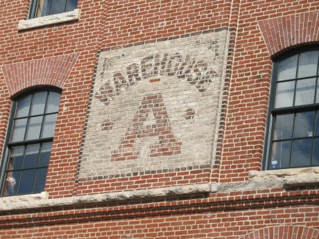 Great painted signs on the old B&O warehouse