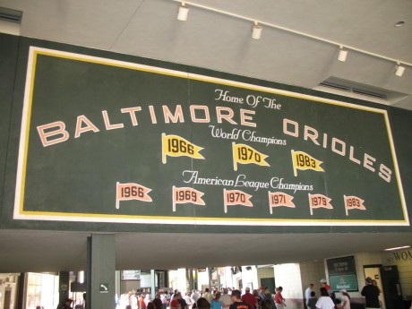 More great fonts inside the stadium