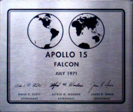 apollo15plaque