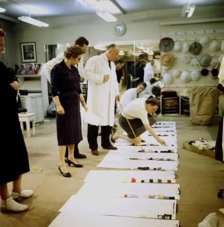Christian Dior in a lab coat!