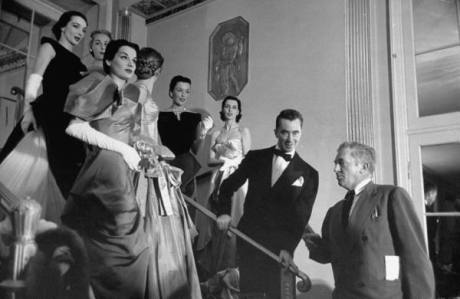 Charles James (wearing the tuxedo)