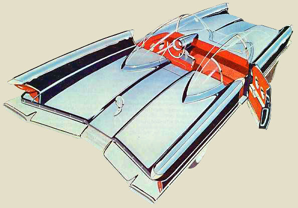 The Lincoln Futura Concept Car 1955 The Invisible Agent
