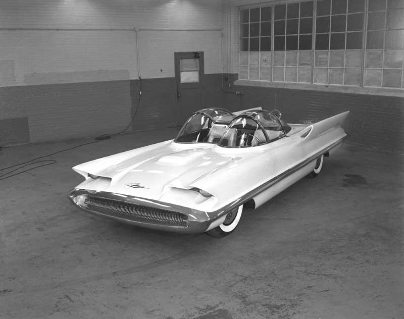 The Lincoln Futura Concept Car 1955 The Invisible Agent