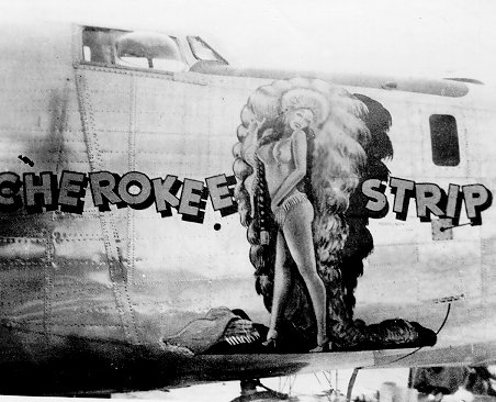 I love the nose art from war planes of