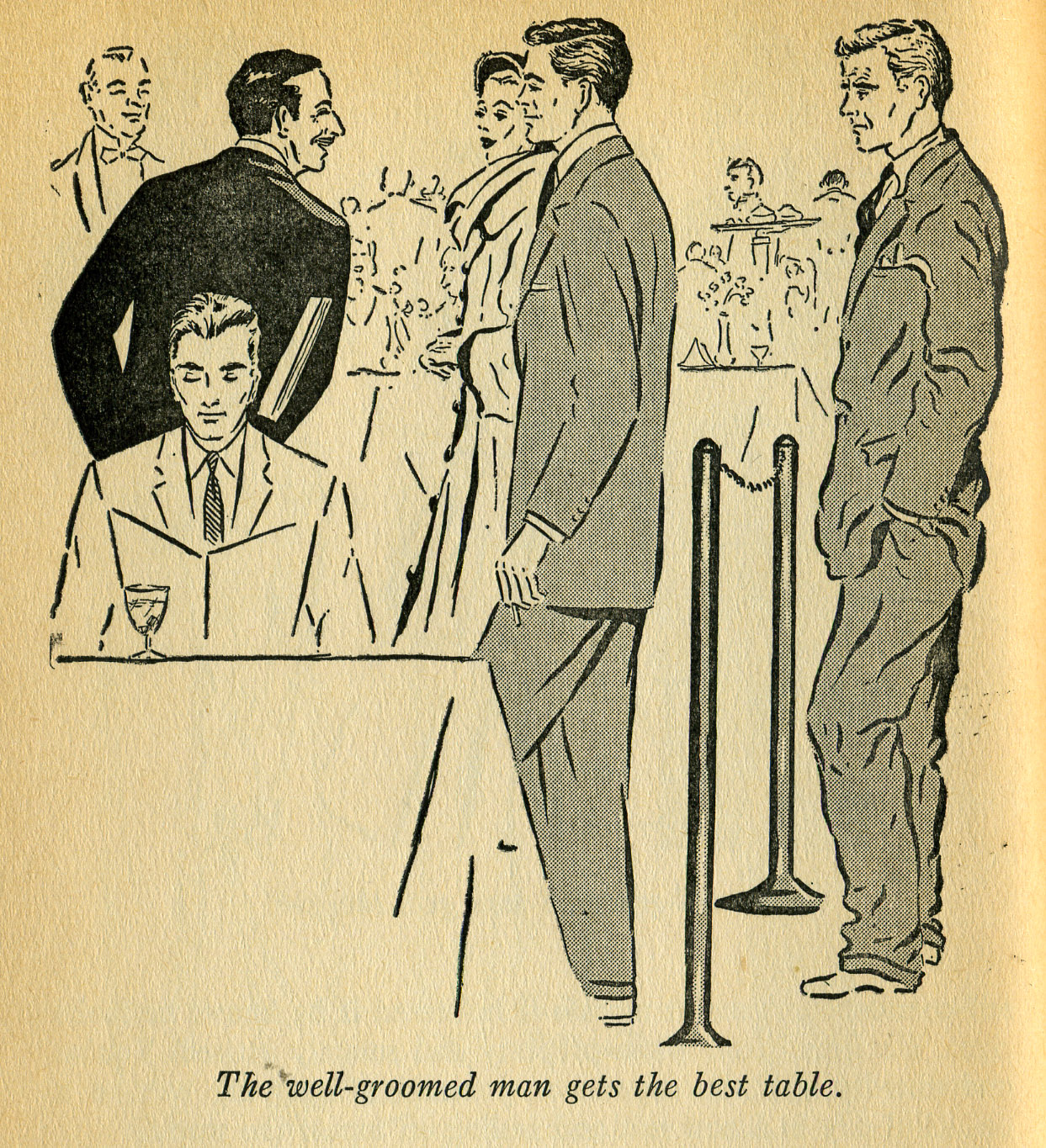 The Well Groomed Man From Right Dress By Bert Bacharach 1955 The Invisible Agent