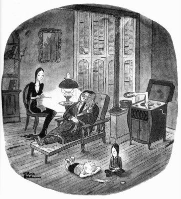 Cartoons by CHARLES ADDAMS « The Invisible Agent