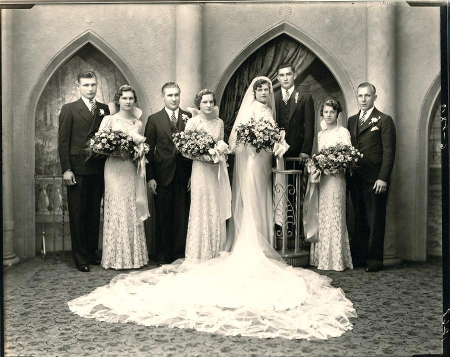 Brides & Grooms Of The Past 1920's – 1950's