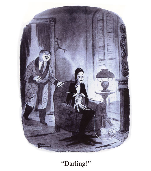 Cartoons By Charles Addams The Invisible Agent