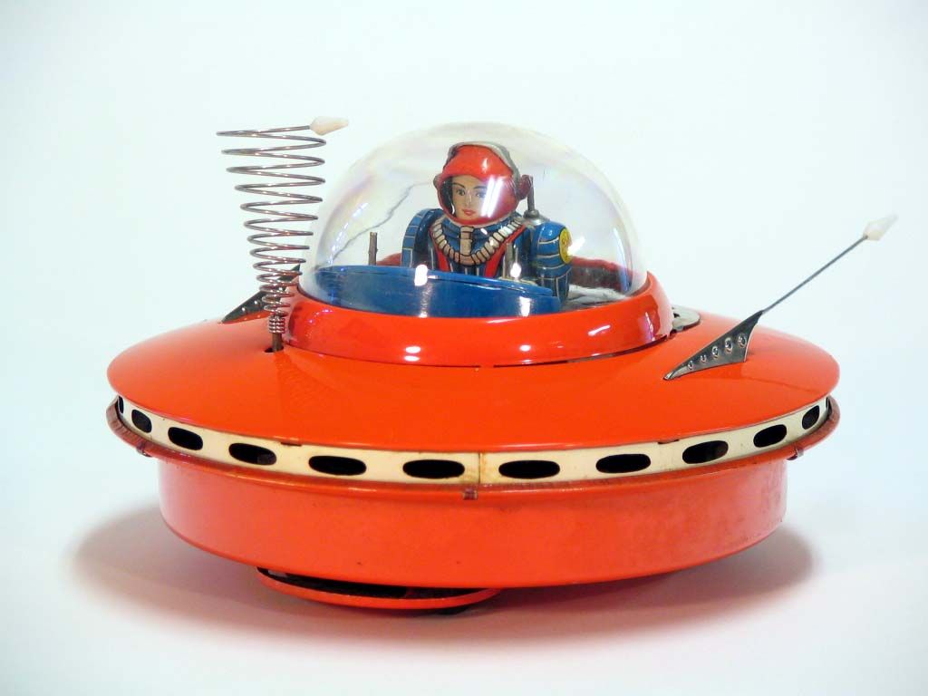 Vintage Space Toys : Col