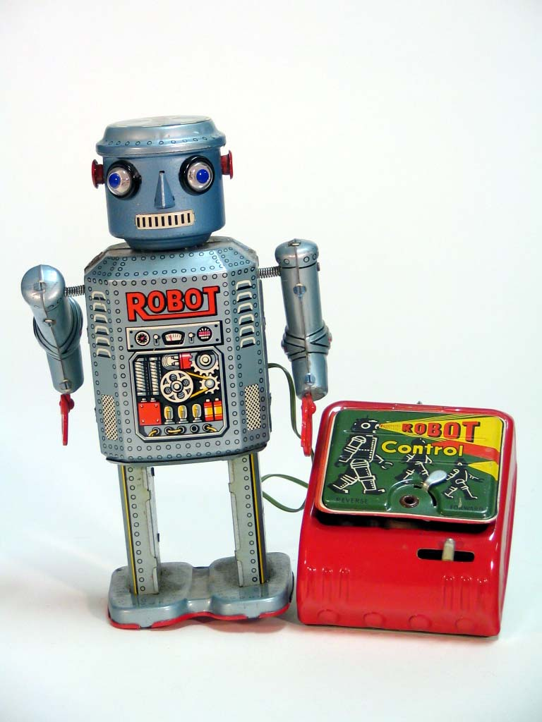 Japanese Tin Toy Robots : More great vintage japanese tin space toys s