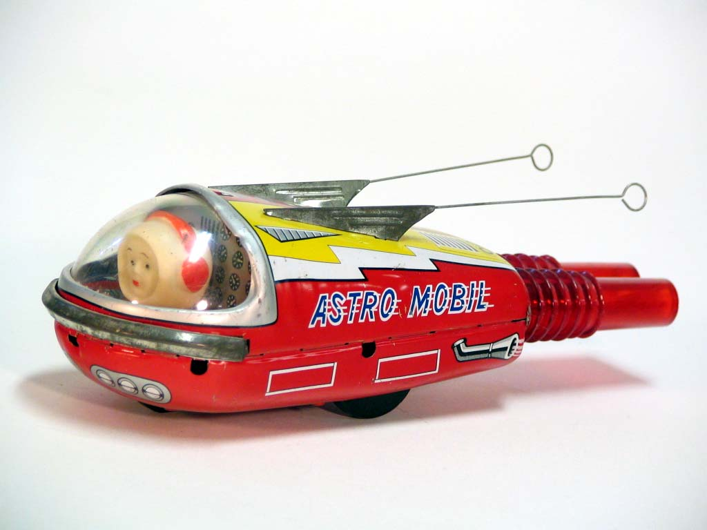 Vintage Japan Tin Toys : More great vintage japanese tin space toys s