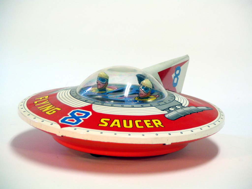 Vintage Space Toys : More great vintage japanese tin space toys s