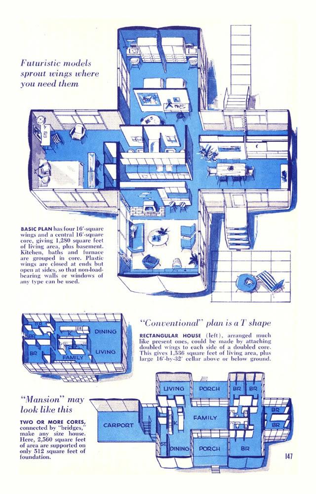 The Monsanto House Of The Future Disneyland 1957 1967