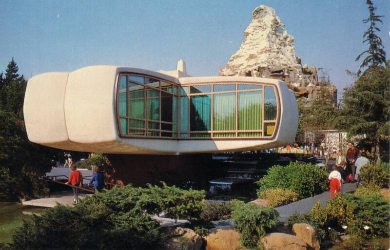 The monsanto house of the future disneyland 1957 1967 for Tomorrow s home