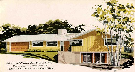 California Ranch Style Homes 1950 S 1960 S The