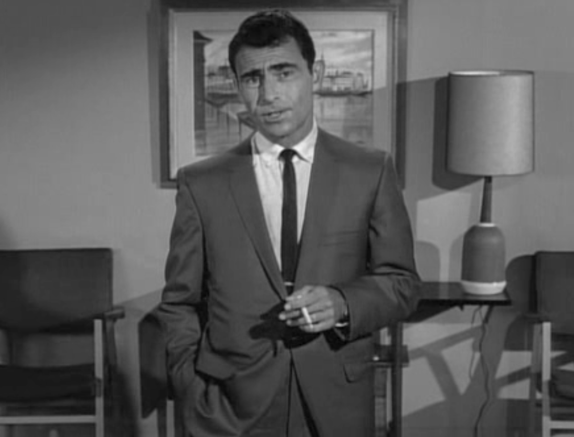 Image result for rod serling twilight zone