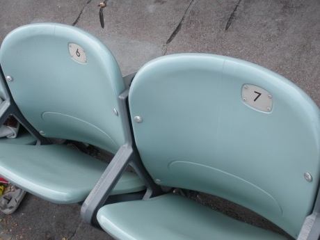 New Seats - These were the new seats that were added a few years ago.