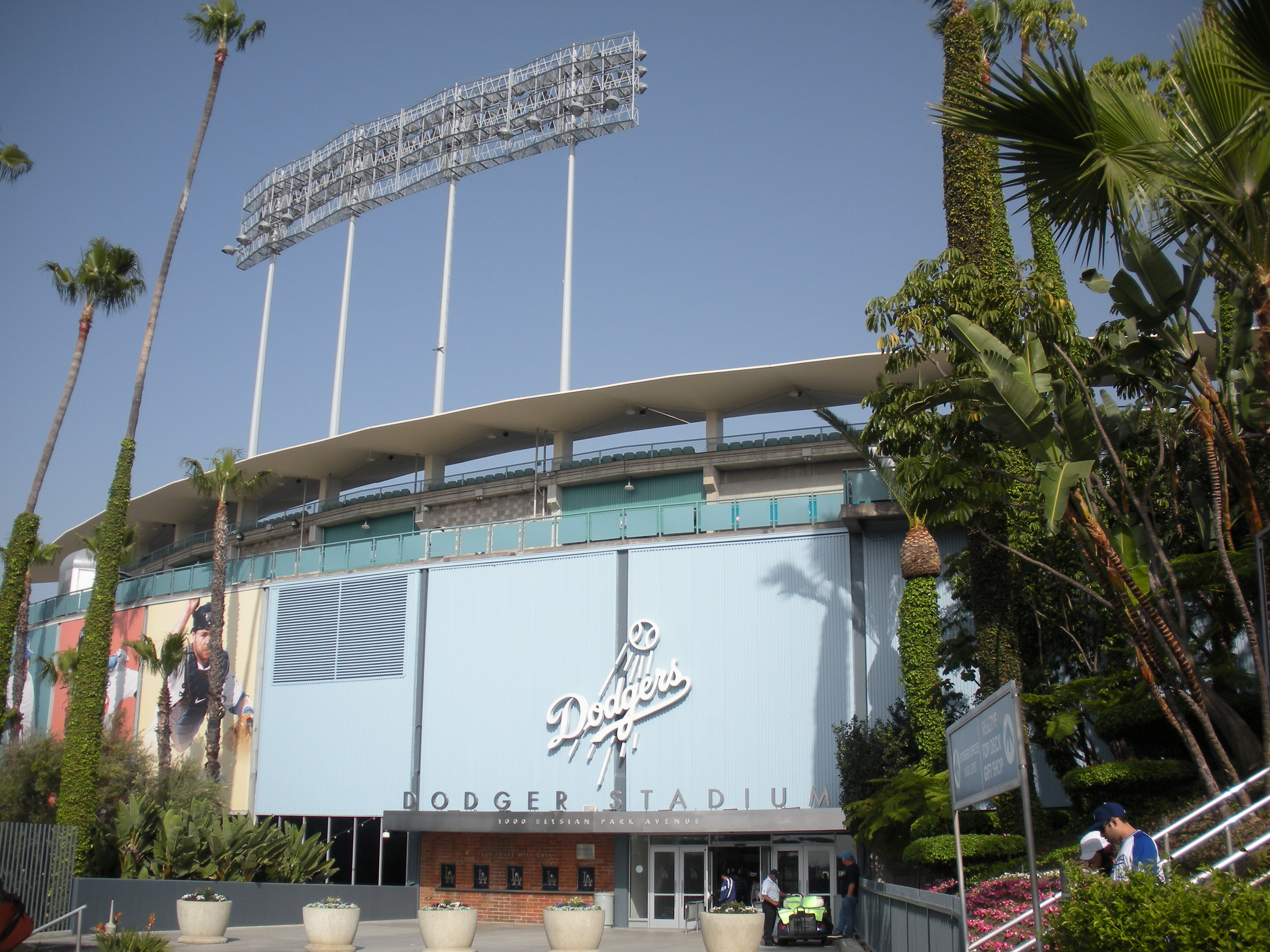 operation outfield infiltrate dodger stadium original stadium concept art today