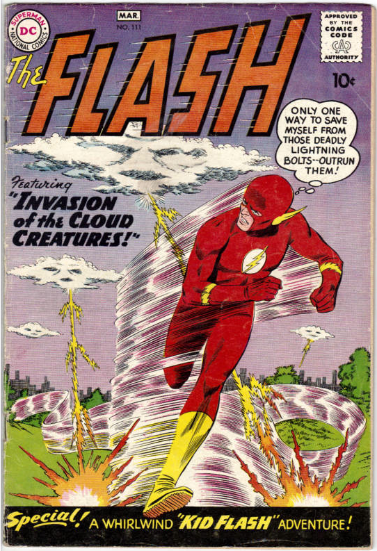 The Flash Silver Age Comic Book Covers Late 1950 S 1960 S