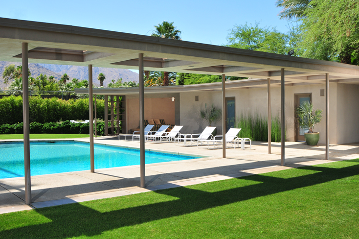 Frank sinatra s palm springs estate 1947 built by for Twin palms estates palm springs