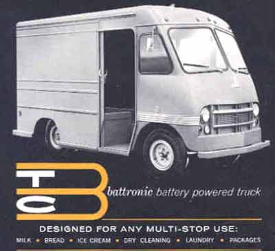 Battronic truck Advertisment