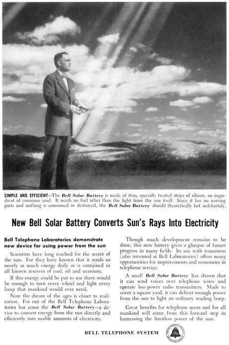 Bell Solar Panel Advertisement