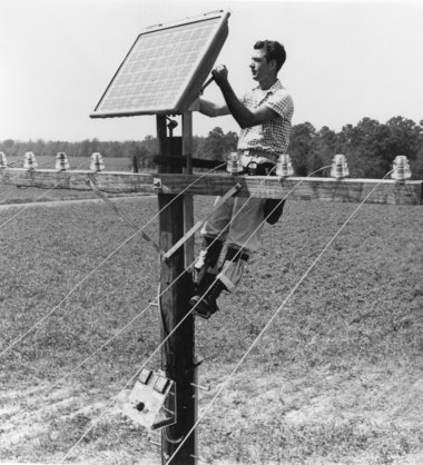 Bell Labs Commercial Solar Panel 1955