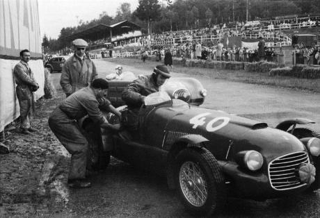 Horsfall competidor en 1948 Spa 24