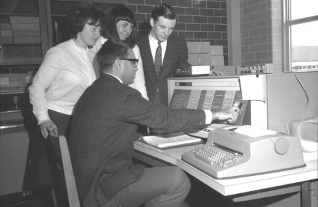 IBM 1620 in action