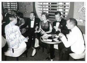 Jane Wyman aboard SS United States