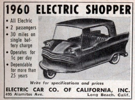 Advertisement for the Electric Shopper