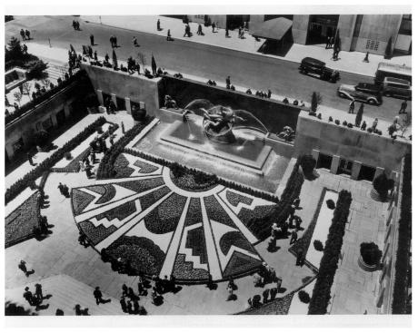Rockefeller Center Circa 1943