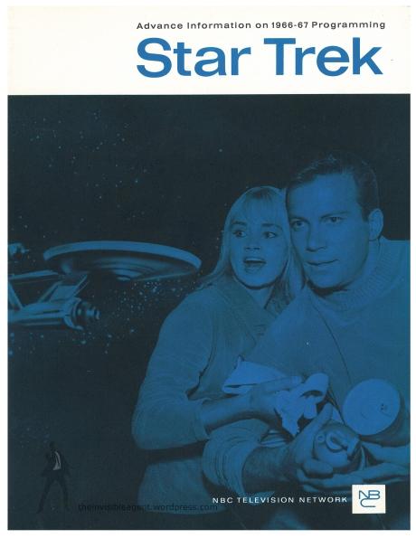 Star Trek Season 1 Sell Sheet Front Cover
