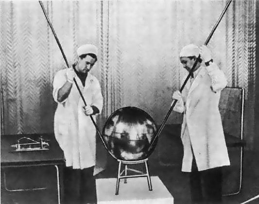 Sputnik Production Russia 1950s The Invisible Agent