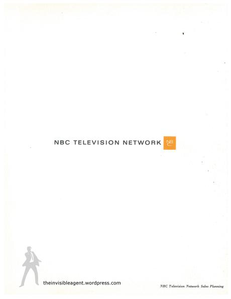 The Monkees-NBC Sales Sheet Back