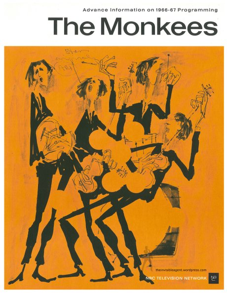 The Monkees-NBC Sales Sheet Cover