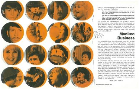 The Mokees-NBC Sales Sheet Page 1