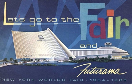 1964 - 1965 New York World's Fair GM Futurama Building